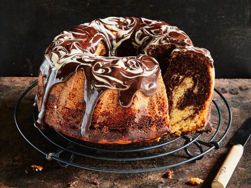 Marmokuchen / Gâteau marbré